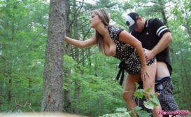Loira Gostosa De Vestido Sem Calcinha Caiu Na Net Transando Com Namorado No Parque